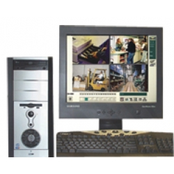 Safetech GV-808 Digital Video Recorder DVR - Tower