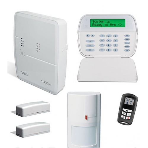dsc alexor 495 pc9155 distributed wireless alarm system package. Black Bedroom Furniture Sets. Home Design Ideas